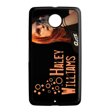 Hayley Williams Paramore Celebrity Nexus 6 Case