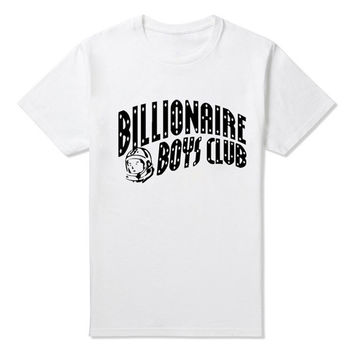 VIP BILLIONAIRE BOYS CLUB T Shirt Tee BBC T Shirts Men's Hip-hop Skateboard T shirts 100% Cotton Shirt Tees Tops JDF0421