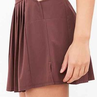 Without Walls Deco Pleated Tennis Skirt - Urban Outfitters