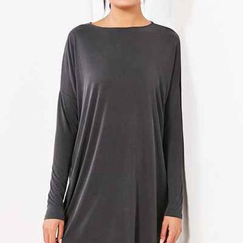 Silence + Noise Vienna Long-Sleeve Dolman Mini Dress - Urban Outfitters