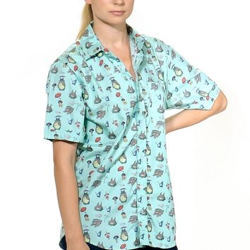 Totoro Dress Shirt