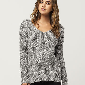 FULL TILT Essential V-Neck Womens Sweater | Pullovers