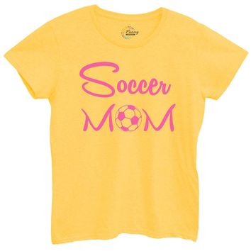 Womens Soccer Mom Tshirt