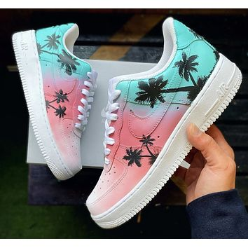 "Air Force 1 ""Miami beach V"" (with side to side tab)"