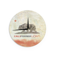 "iRuz33 ""Cali Love"" Wall Clock"
