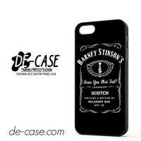 Barney Stinson Have You Met Ted Jack Daniels How I Met Your Mother DEAL-1352 Apple Phonecase Cover For Iphone 5 / Iphone 5S
