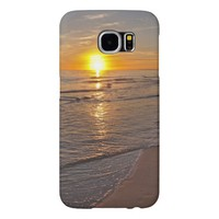 Case: Sunset by the Beach Samsung Galaxy S6 Cases