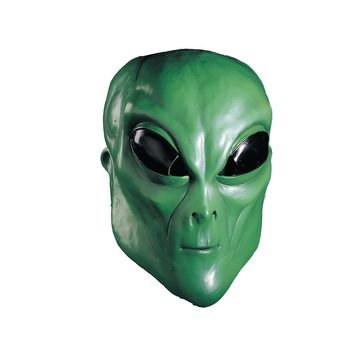Rubies - Alien, Green, Mask (Size: One Size, Color: As Shown) - FREE SHIPPING