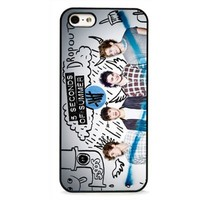 New 5 Second of Summer 5sos Custom Case for Iphone 5 / 5s / 5g