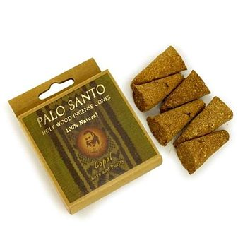 Palo Santo Copal Incense Cones - Love & Purity - 6 Cones