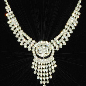 Chandelier Rhinestone Jewelry Set