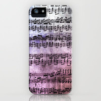 Little Bit of Music iPhone Case by Studio Chanelle