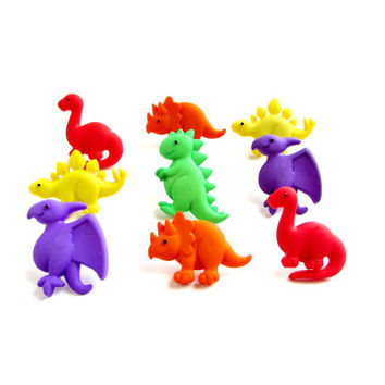 Dinosaur Push Pins-Embellished Push Pins-Boys Room Decor-School- Thumbtacks