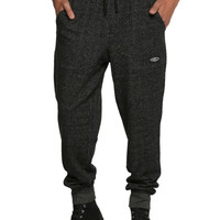 Brooklyn Cloth Onyx Marled Knit Jogger Pants