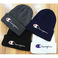 Champion Fashion Casual  Life Knit Pom Beanie G