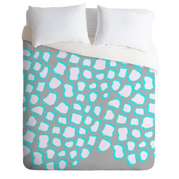 Gabi Leaps And Bounds Duvet Cover