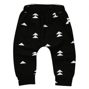 Casual Toddler Baby Carton Animal Bottoms Pants NEW Infant Boys Girls Cartoon Harem Pants Trousers