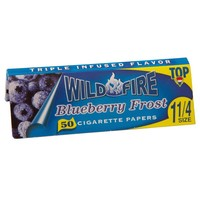 Top Wildfire - Blueberry Frost Regular Size Rolling Papers - Single Pack