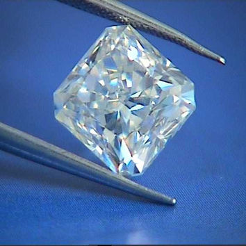 10.02ct Radiant cut diamond H-VS2 GIA certified loose diamond JEWELFORME BLUE