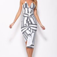 Change Your Mind Maxi Dress White