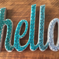 Hello String Art