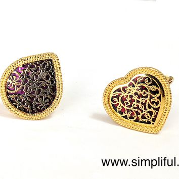 Thewa style adjustable Finger ring
