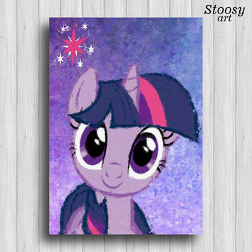 Twilight Sparkle my little pony poster girl room decorations