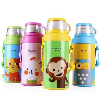 Multifunction Stainless Steel Water Bottle with Rope