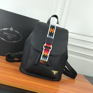 HCXX 19June 639 Prada Leisure Flipped Backpack 26-30-14