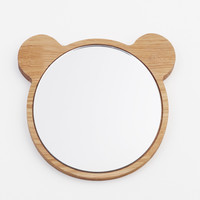 Bear Face mirror by All Lovely Stuff