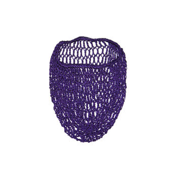 Purple Snood Hair Net