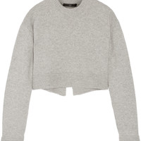 Tibi - Cropped cashmere sweater