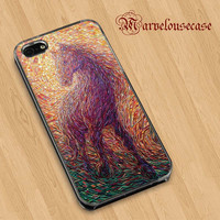 Watercolor Magical Horse custom case for all phone case