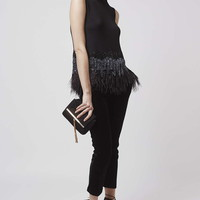 Premium Feather Bead Shell Top - New In This Week - New In