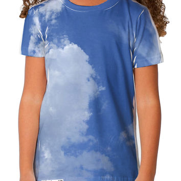 Clouds All Over Toddler T-Shirt Single Side All Over Print