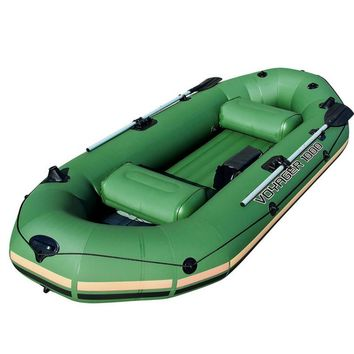 Voyager 1000 Inflatable Raft for 2-3 Persons Army Green