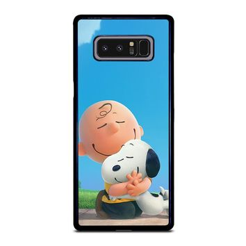 SNOOPY AND CHARLIE BROWN THE PEANUTS Samsung Galaxy Note 8 Case Cover
