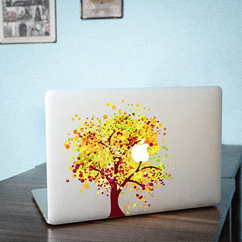 Apple MacBook Cover Decal Macbook Air Sticker Macbook Air Decal Macbook Pro Decal huangshu 1326