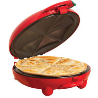 "Walmart: Bella 8"" Quesadilla Maker, Red"