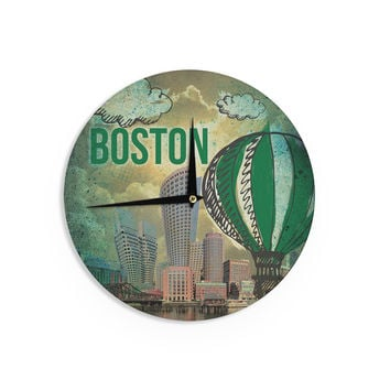 "iRuz33 ""Boston"" Wall Clock"
