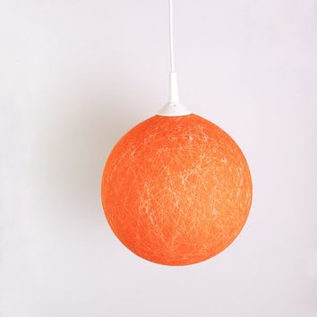 Handmade lamp, geometric lighting, pendant light, hanging lamp, lamp shade, lamp, interior accent Orange Sunset by FiligreeCreations on Etsy