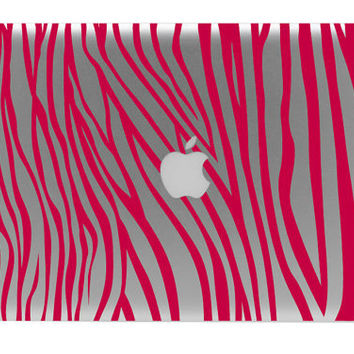 Make It Zebra Printed Macbook Decal / Macbook Sticker / Laptop Decal