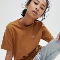 Dickies Boyfriend T-Shirt With Small Logo at asos.com