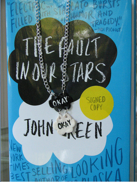 """The Fault in Our Stars """"Okay Okay"""" Necklace"""
