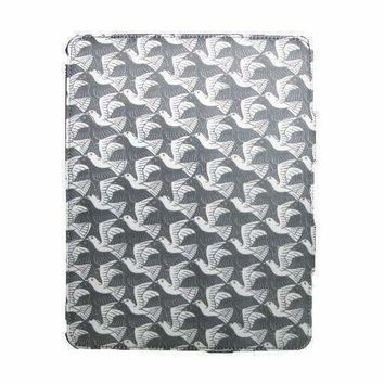 M.C. Escher Birds Premium Fabric Wrapped Case for iPad 2