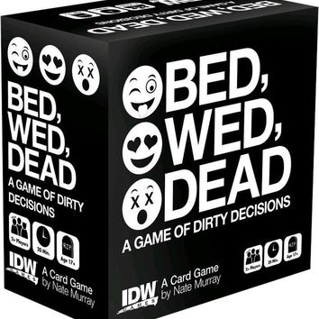 Bed, Wed, Dead | CARD GAME