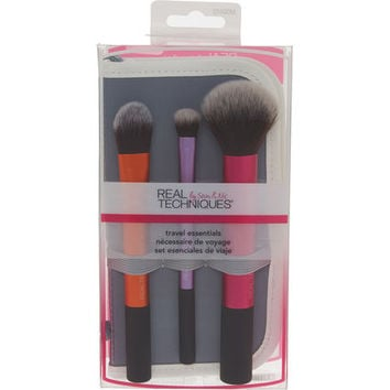 Pack Of 3 Travel Essentials Brushes - Make-up & Nails - Beauty - Women - TK Maxx