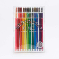 Seriously Fine Felt Tip Markers - Urban Outfitters
