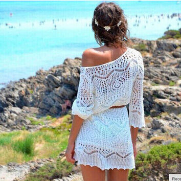 Best crochet beach cover up products on wanelo crochet cutout beach cover up dt1010fo