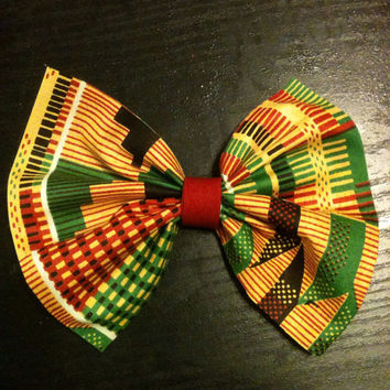 Ethnic-African Hair Bows-Hair Accessories-Hair Clips-Kids Hair Bows-Women's Hair Bows